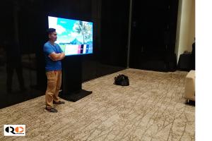 Cho thuê tivi 70 inch tại Khách sạn Marriot
